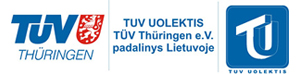 """UAB """"TUV Uolektis"""" sertifikavimo įstaigos TUV Thuringen e.V. padalinys Lietuvoje"""